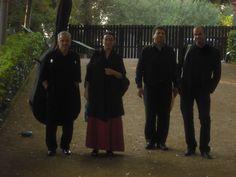 Eva i Fun Jazz arribem als Jardins de Santa Clotilde de Lloret de Mar (1). Foto: Anna Taberner.
