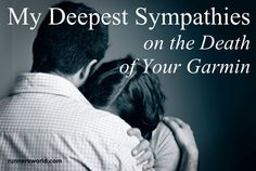 """""""My deepest sympathies on the death of your Garmin."""" - Sympathy Cards for National Running Day   Runner's World"""