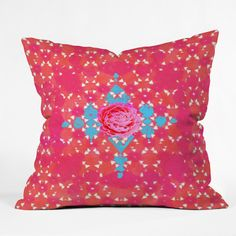Hadley Hutton Floral Tribe Collection 3 Throw Pillow | DENY Designs Home Accessories