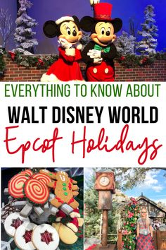 There's so much to love at this year's Epcot Festival of the Holidays! Get your complete guide here for a perfect Disney Christmas! Disney World Hotels, Disney World Florida, Walt Disney World Vacations, Disney Worlds, Disney Travel, Dining Plan Disney World, Disney World Planning, Disney World Tips And Tricks, Disney Tips