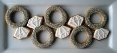 Diamond ring cookie cutter!