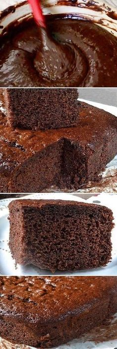Recipes cake chocolate 29 ideas for 2019 Choco Chocolate, Chocolate Sponge Cake, Chocolate Biscuits, Chocolate Recipes, Pound Cake Recipes, Cookie Recipes, Dessert Recipes, Gateaux Cake, Chocolates