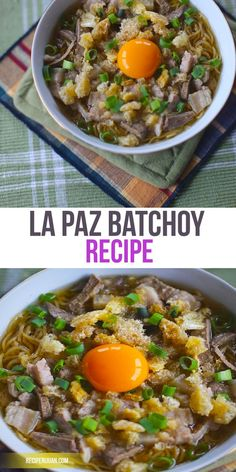 La Paz Batchoy Recipe, It is hands-down considered a comfort food together with other dishes like Goto and Lugaw. It can also be eaten as a midday or mid-afternoon snack and also as a soup during the rainy seasons.
