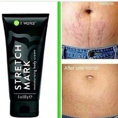 Skin Care Tips And Advice For You It Works stretch mark cream! All natural and great results! It Works stretch mark cream! All natural and great results! It Works Wraps, My It Works, Stretch Marks On Thighs, Productos It Works, Skin Care Regimen, Skin Care Tips, Stretch Mark Remedies, It Works Distributor, Cleanser