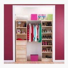 New Closet Modernos Chicos Ideas My New Room, My Room, Coat Closet Organization, Modern Closet, Closet Layout, Master Bedroom Closet, Room Decor, Decoration, House Styles