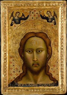 Head of Christ, second half 14th century,  Master of the Orcagnesque Misericordia, Italian, Florentine ☩