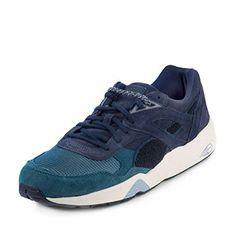 Puma Mens R698 OG x BWGH Medieval Blue Leather Size 115    See this great cc77a44c6
