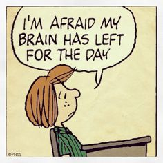 I'm afraid my brain has left for the day 。◕‿◕。