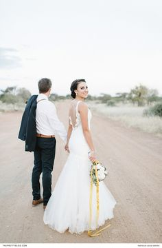 Mermaid wedding dress with open back and lace detail, with a golden leaf hair-piece and soft white bouquet Hair Jewelry, Jewellery, Hair Piece, Mermaid Wedding, Got Married, Lace Detail, Bordeaux, Photographers, Floral Design