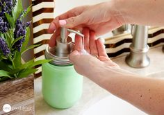 How To Make Resort-Quality Liquid Hand Soap For Under $1 - One Good Thing by JilleePinterestFacebookPinterestFacebookPrintFriendly