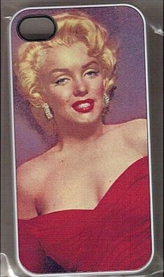 A Marilyn iPhone Cover! For iPhone 4/4s $18.69 Iphone 4, Iphone Cases, Cell Phone Covers, Ecommerce Platforms, Marilyn Monroe, Good Things, Stylish, Black, Black People