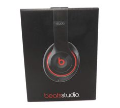 Genuine beats by Dr. Dre Studio 2.0 Wired Over-Ear Headphones- Black