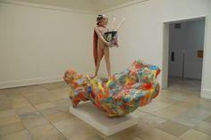 "Rachel Harrison  ""Alexander the Great"", 2007. Art Experience:NYC http://www.artexperiencenyc.com/social_login"