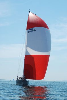 Red & White Sails