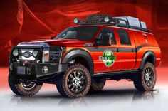 Ford F-Series Prepped for Dirt or Speed at SEMA  - Motor Trend WOT