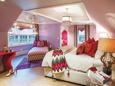 Perfect Bright Moroccan Style Bedroom for Girl | W DESIGN