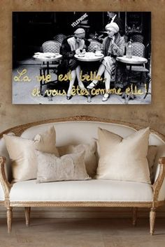 HauteLook | Hip Art For The Fashionista: Oliver Gal You Are Beautiful Canvas Art
