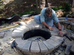 How To Build a Round Stone Fire Pit | how-tos | DIY