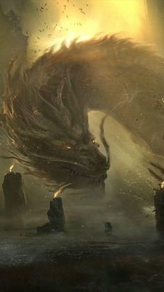 Sci Fi Wallpaper, Wallpaper Animes, Animes Wallpapers, Fantasy Paintings, Fantasy Artwork, Mythical Creatures Art, Fantasy Creatures, Dark Fantasy Art, Chobits Anime