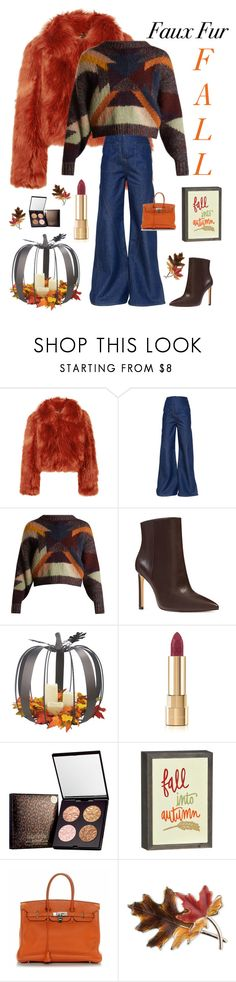 """""""Fall is Here 🍁"""" by kotnourka ❤ liked on Polyvore featuring Maison Margiela, Esteban Cortazar, Isabel Marant, Nine West, Dolce&Gabbana, Hermès and Anne Klein"""