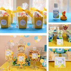 bubble bath birthday | For the favors, I had bubble bath, bubbles, and rubber ducks all ...