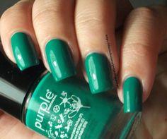 The clockwise nail Polish: Purple Professional Nº52