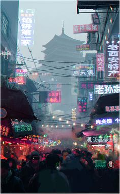 cities in China are the most cyberpunk places on Earth Cyberpunk City, Cyberpunk Aesthetic, Aesthetic Japan, City Aesthetic, Aesthetic Light, Purple Aesthetic, Vaporwave, City Wallpaper, Iphone Wallpaper Japan