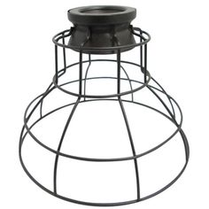 Portfolio 6.75-in H x 8.5-in W French Bronze Metal Mix and Match Mini Pendant Light Shade