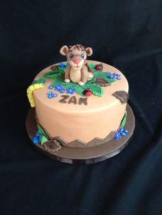 The Lion King ~ Simba Cake
