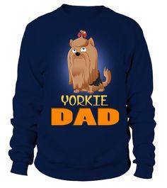 Cute Yorkshire Terrier Dad