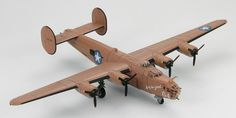 "Hobby Master 1:144 Consolidated B-24D Liberator ""Lady Be Good"", 514th BS, 376th BG, USAAF"