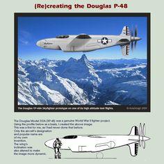 Douglas YP-48A Skyfighter by Bispro.deviantart.com on @DeviantArt