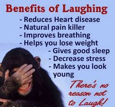 Laughing is such great medicine!