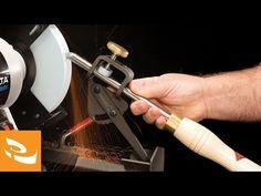 Sharpening Woodturning Tools - YouTube