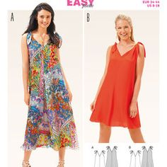 Burda Style Pattern 6663 Misses' Dress