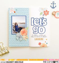 My happy place...: Let's Go Traveler's Notebook Spread | The Cut Shope
