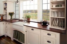 large-kitchen-sinks-Kitchen-Rustic-with-Big-Sky-Montana-Architect ...