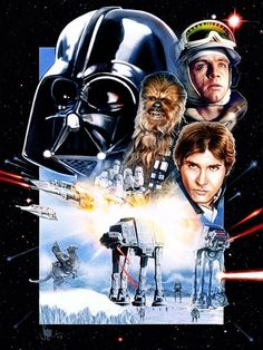 disney world 30th anniversary poster | Battle of Hoth...The Poster!