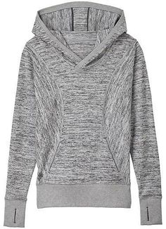 Athleta No Sweatin' It Pullover Hoodie