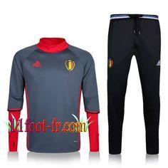 d5d9dfba2e46c Nouveaux  11Foot-fr Survetement Belgique Homme 2016-17 Rouge Survetement  Bayern