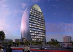 The Oval Building in Limassol!