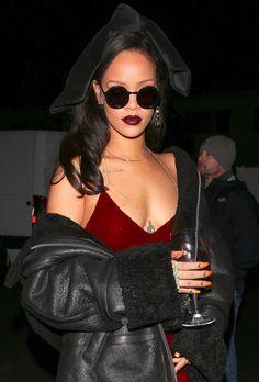 December 17: Rihanna leaving Giorgio Baldi restaurant in Los Angeles, CA