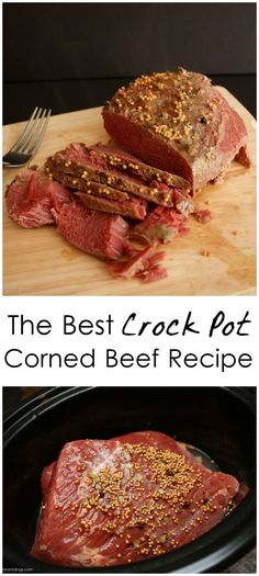 Corned Beef Recipe In Crock Pot.Crock Pot Guinness Corned Beef And Cabbage. Crock Pot Corned Beef And Cabbage. The Very Best Corned Beef And Cabbage Recipe Corned . Corned Beef Brisket, Beef Brisket Crock Pot, Crock Pot Slow Cooker, Crock Pot Cooking, Slow Cooker Recipes, Cooking Recipes, Corned Beef Crockpot, Beef Welington, Beef Meals