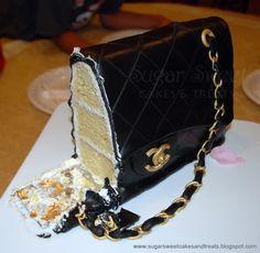 Chanel Classic Handbag Cake | Sugar Sweet Cakes and TreatsSugar Sweet Cakes and Treats