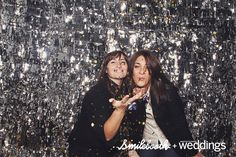 Love the photo booth backdrop