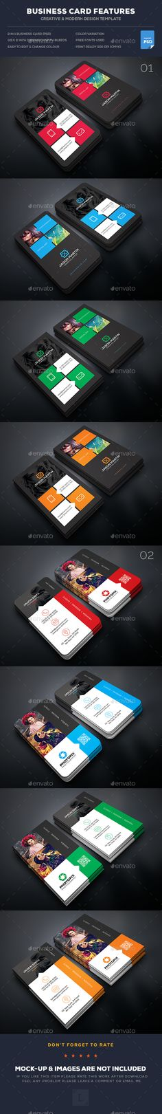 Buy Photography Business Card Bundle by UXcred on GraphicRiver. FEATURES: Easy Customizable and Editable Business card in with bleed CMYK Color Design in 300 DPI Resolut. Buy Business Cards, Vintage Business Cards, Artist Business Cards, Simple Business Cards, Business Card Design, Business Branding, Cv Web, Photography Business Cards, Food Photography