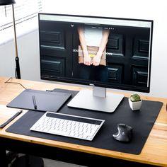 60*40cm pu leather high-grade office desk mat computer desks pad