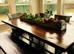 Dining table install
