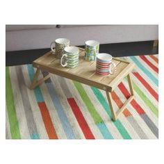 ADA Multi-coloured cotton runner 75 x 250cm