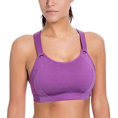 f21e388e5ccf SYROKAN Donna Reggiseno Sportivo Massimo Supporto #Abbigliamento #Donna #Abbigliamento  sportivo #Tute da